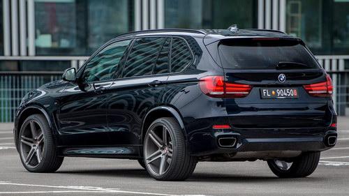 BMW X5 độ mâm Vossen 22 inch mạnh mẽ - 6