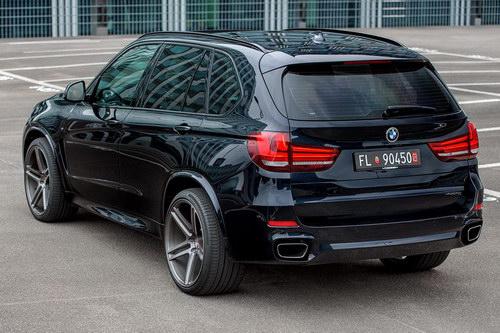 BMW X5 độ mâm Vossen 22 inch mạnh mẽ - 7