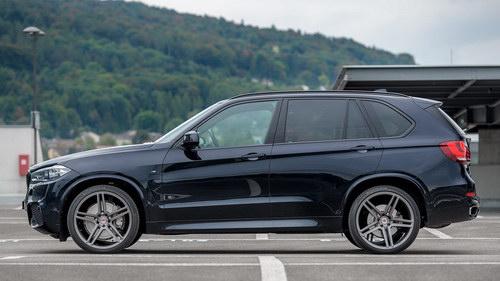 BMW X5 độ mâm Vossen 22 inch mạnh mẽ - 8