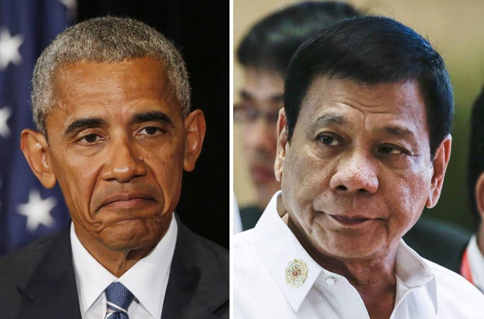 Tổng thống Philippines giả ốm tránh gặp Obama - 1