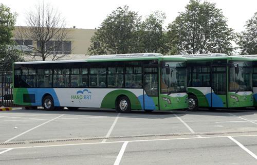 Bao giờ xe buýt nhanh Hà Nội vận hành chính thức? - 1