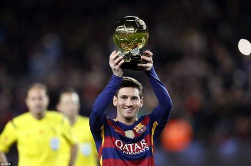 Tại sao Messi không xứng đáng giành QBV 2016? - 2