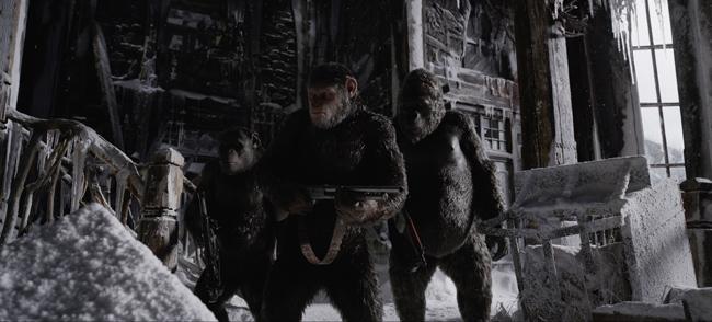 Khiếp sợ trước âm mưu của loài khỉ trên màn ảnh - 1