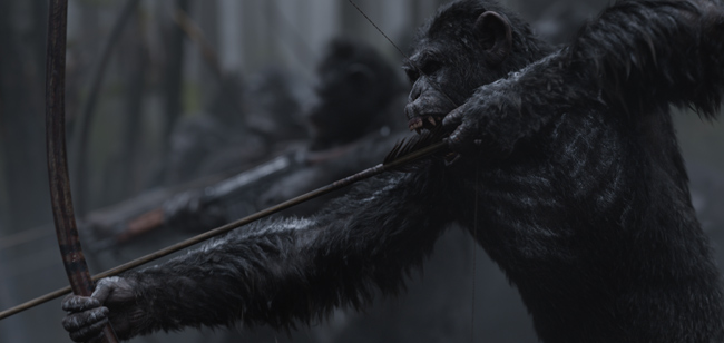 Khiếp sợ trước âm mưu của loài khỉ trên màn ảnh - 4