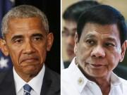 Tổng thống Philippines giả ốm tránh gặp Obama