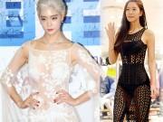 """Thời trang - """"Thót tim"""" ngắm """"bom sex mới"""" xứ Hàn mặc xuyên thấu"""