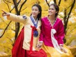 Mỹ Linh, Thanh Tú diện Hanbok đẹp không kém mỹ nhân Hàn Quốc