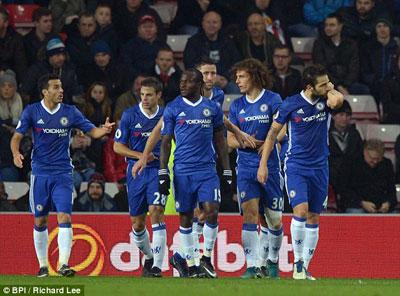 Chi tiết Sunderland - Chelsea: Người hùng Courtois (KT) - 4