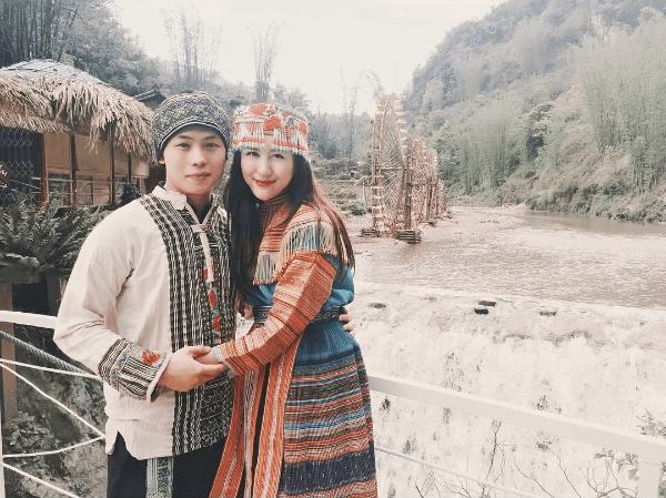 Những bóng hồng diện trang phục dân tộc đẹp mơ mộng - 1