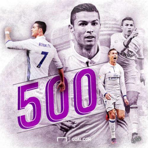 """Kỷ niệm """"QBV"""", Ronaldo cán mốc 500 bàn cho CLB - 2"""
