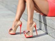 Thời trang - Hết sợ giày cao gót chót vót với những mẹo nhỏ thú vị