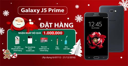 Rinh Galaxy J5 Prime chơi Noel với bộ quà khủng 5 món - 2