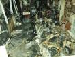 Hiện trường vụ cháy khiến 6 người trong gia đình thiệt mạng