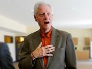 Thế giới - Cựu Tổng thống Mỹ Bill Clinton gầy gò đáng sợ?