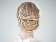 Thời trang - Tô điểm góc con người với cài tóc ngọc trai tự làm
