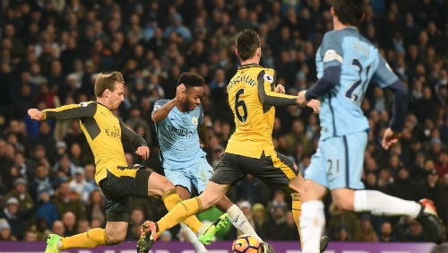 Man City - Arsenal: Màn lột xác tạo kịch tính ở hiệp 2 - 2