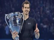 """Thể thao - Tin thể thao HOT 19/12: Murray thu nhập """"khủng"""" năm 2016"""