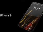 Dế sắp ra lò - Video: Concept Apple iPhone 8 với thiết kế uốn cong 4 cạnh