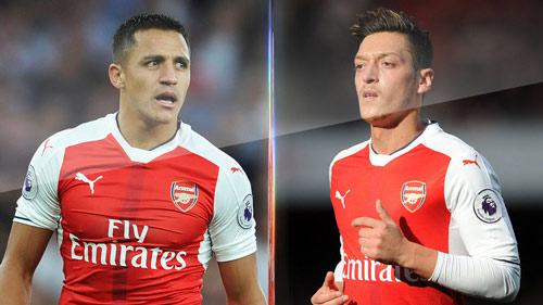 Sanchez & Ozil muốn lương cao, hãy ghi bàn như Ronaldo, Messi - 1