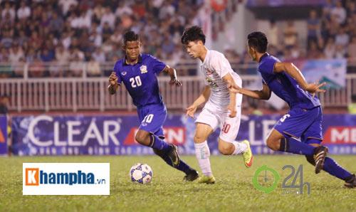 Bị Thái Lan chơi xấu, Công Phượng - Văn Toàn được bảo vệ - 2