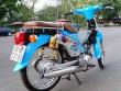Ngắm Honda Cub 50 độ với đồ chơi hàng hiệu khủng