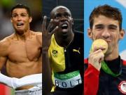 Bóng đá - Siêu sao thể thao số 1: Bolt, Phelps hay Ronaldo