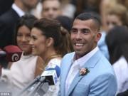 Bóng đá - Tevez cưới vợ, an tâm sang Trung Quốc ký siêu hợp đồng
