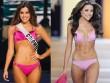 Màn diễn bikini nóng hừng hực của các hoa hậu Hoàn vũ