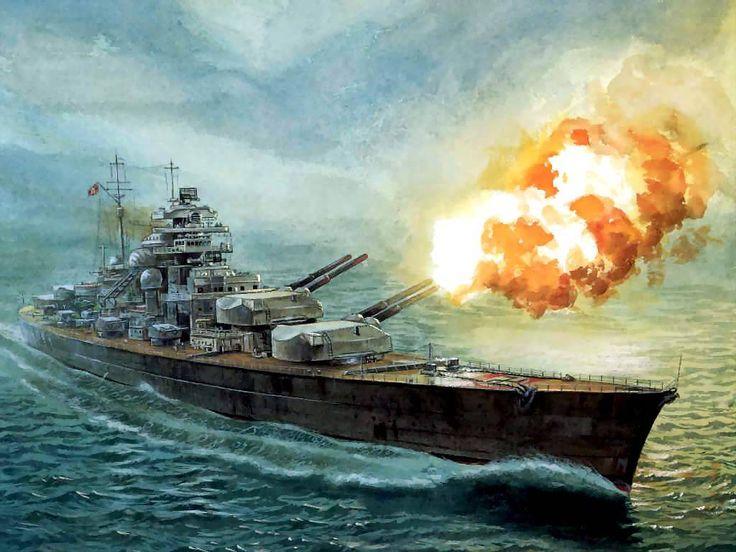 """Trận hải chiến đánh chìm chiến hạm """"khủng"""" nhất của Đức - 1"""