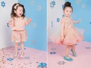 Bạn trẻ - Cuộc sống - Con gái Elly Trần cực yêu trong bộ ảnh Giáng sinh