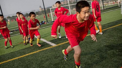 """Hão huyền bóng đá Trung Quốc mơ bá chủ """"3 trong 1"""" - 1"""
