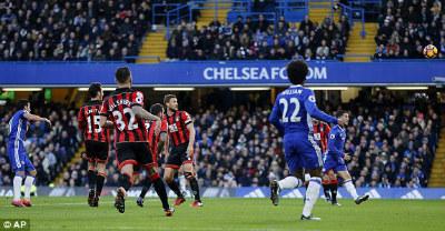 Chi tiết Chelsea – Bournemouth: Pedro có cú đúp (KT) - 3