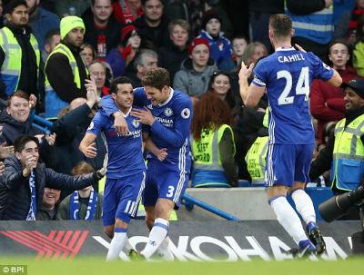 Chi tiết Chelsea – Bournemouth: Pedro có cú đúp (KT) - 4