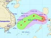 Bão Nock-ten giật cấp 14-15 tiến vào Biển Đông