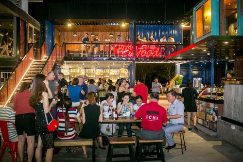 Đập hộp nhà hàng container siêu khủng Holy Pig tại Đà Nẵng - 7