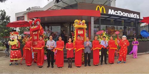 McDonald's khuyến mãi mới nhân dịp khai trương nhà hàng thứ 13 - 1
