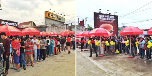 McDonald's khuyến mãi mới nhân dịp khai trương nhà hàng thứ 13 - 2