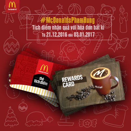 McDonald's khuyến mãi mới nhân dịp khai trương nhà hàng thứ 13 - 3