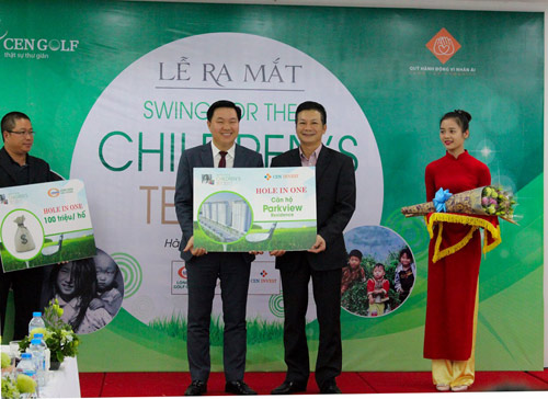 Ra mắt giải golf từ thiện SWING FOR THE CHILDREN'S TET 2017 - 1