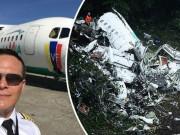 """Máy bay chở đội bóng Brazil rơi: Hộp đen """"tố"""" gì?"""