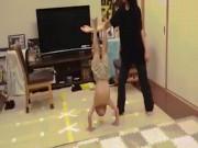 """""""Lý Tiểu Long"""" 6 tuổi tung tuyệt kỹ phi thường: Ai cũng phục"""