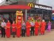 McDonald's khuyến mãi mới nhân dịp khai trương nhà hàng thứ 13