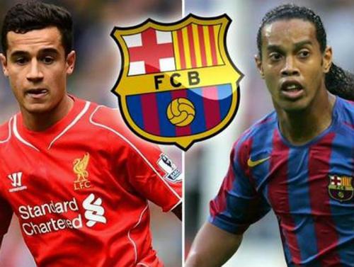 "Ronaldinho, Xavi giúp Barca ""thả thính"" sao Liverpool - 1"