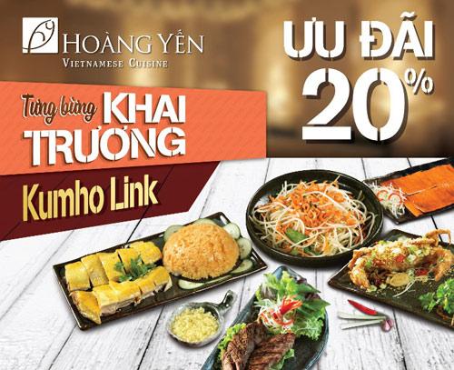 Ưu đãi 20% mừng khai trương chi nhánh mới của Hoàng Yến Vietnamese Cuisine - 6