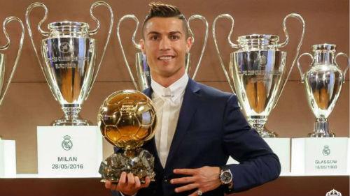 Ronaldo tiếp tục thống trị thêm giải thưởng danh giá - 1