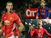 Bóng đá - MU: Ibra được khen giỏi hơn Nistelrooy, ngang tầm Messi
