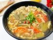 Canh dưa chua nấu tóp mỡ đơn giản mà ngon cơm