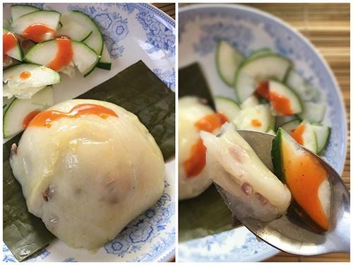 Bánh giò nhân thịt nóng hổi, siêu ngon cho bữa sáng - 7