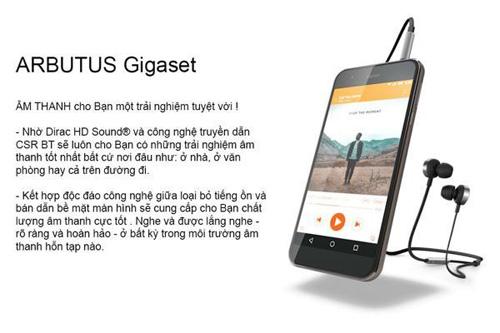 ARBUTUS GIGASET - Chip Qualcomm 8 nhân, Ram 3G giá chỉ 2,9 triệu đồng - 2