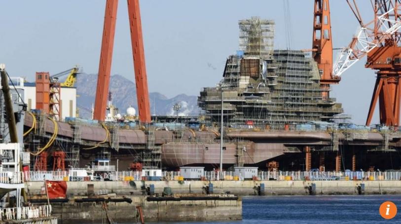 Tàu sân bay bí ẩn của TQ bị báo Nhật phơi bày - 1